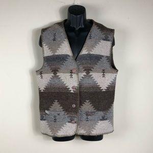 Vintage Wool Navajo Vest